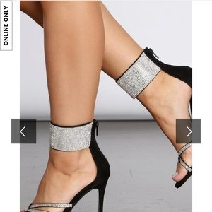 Windsor's heels! Worn once! Like brand new!